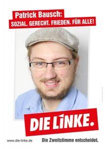Unser Kandidat für den Wahlkreis Schwarzwald-Baar: Patrick Bausch